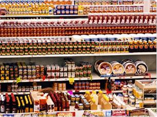 правильная выкладка товара в продуктовом магазине фото